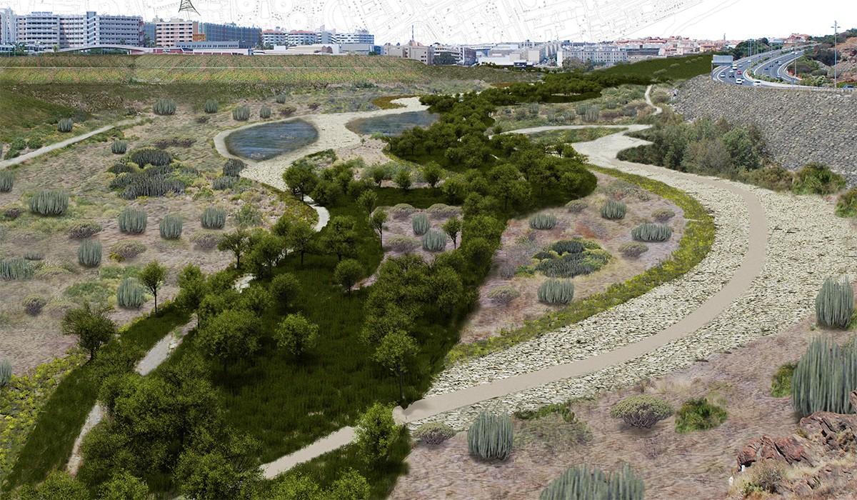 Proyecto barranco de La Maleza