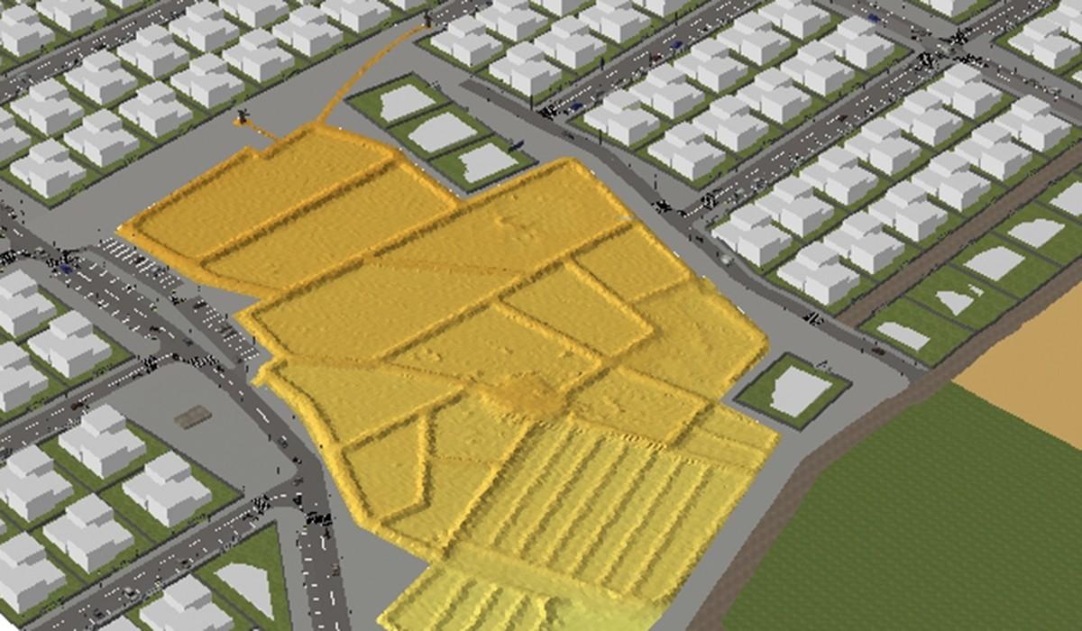 plan urbanistico La Bufona